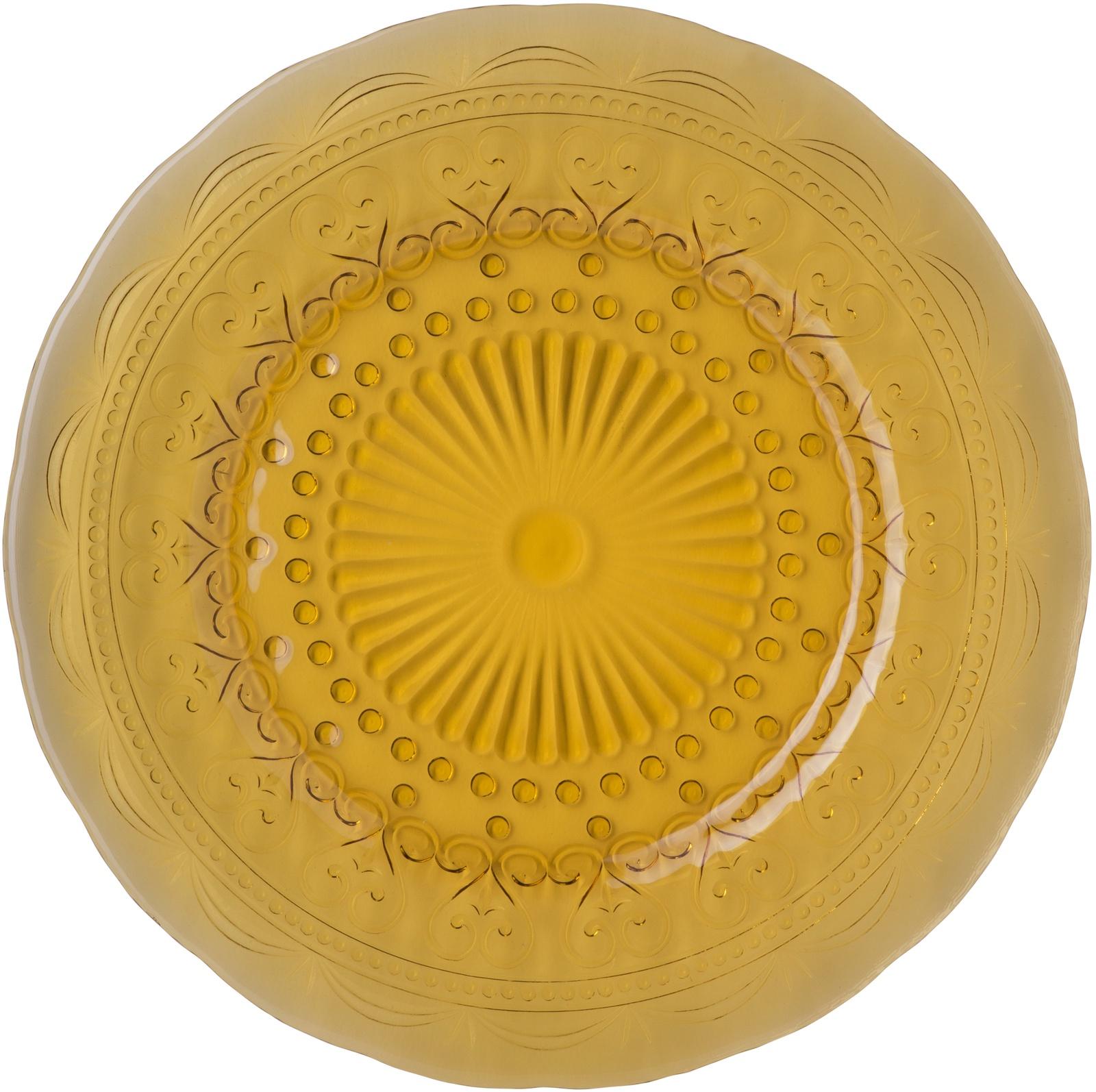 Тарелка десертная Zafferano PV01104, PV01104, желтый