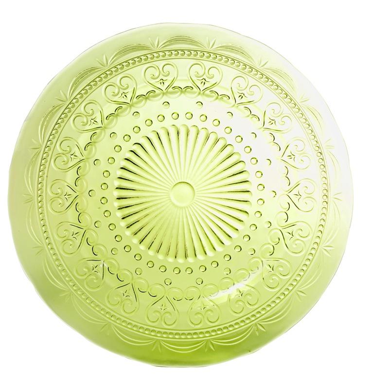 Тарелка Zafferano PV01213, светло-зеленый