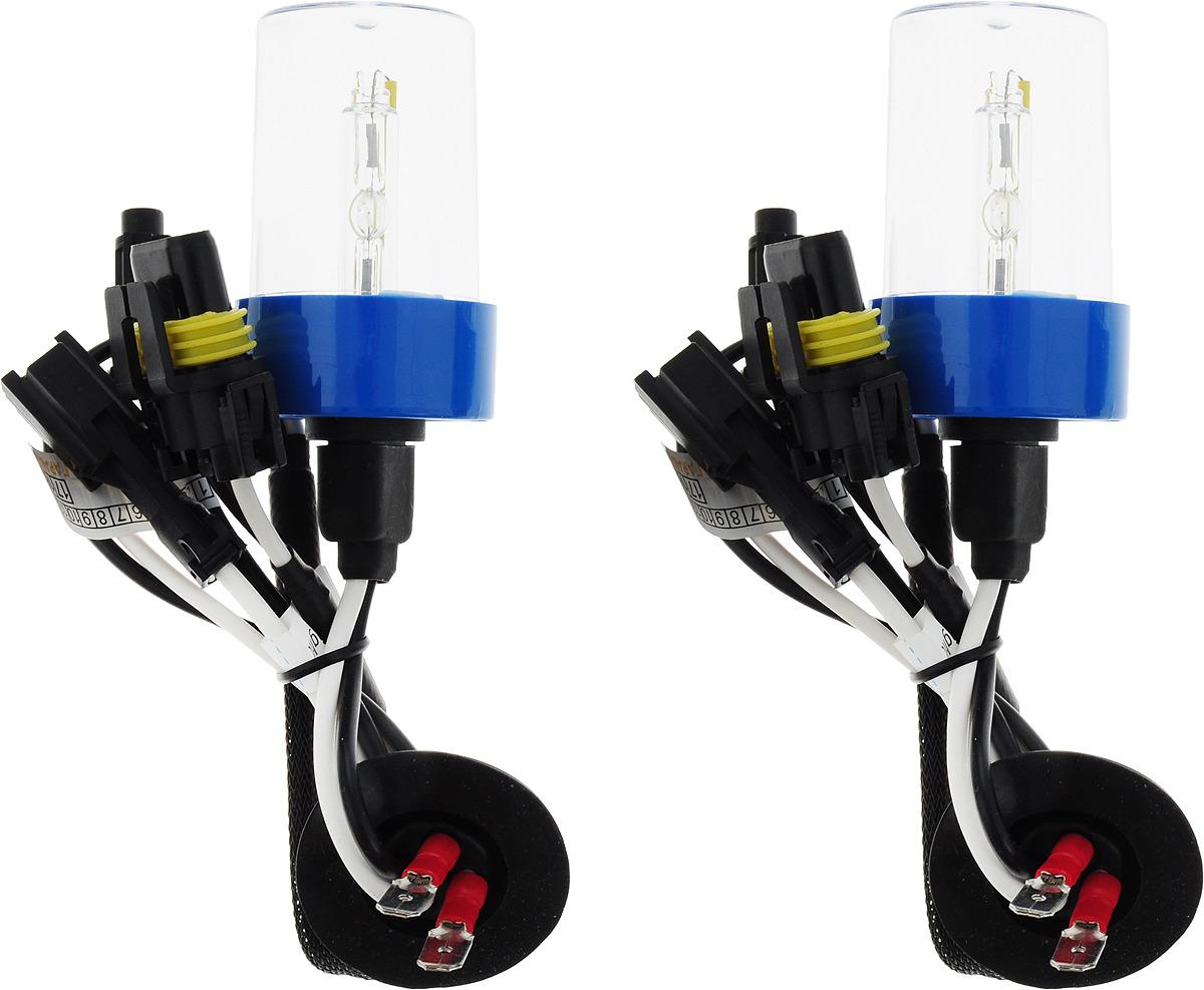Лампа автомобильная ксеноновая Clearlight Xenon Premium+150%, цоколь H7, 5000 К, 35 Вт, 2 шт лампа автомобильная ксеноновая clearlight xenon premium 150% цоколь d2r 5000 к 35 вт 2 шт