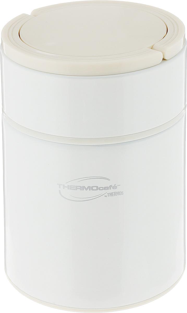 Термос Thermocafe By Thermos Arctic-500FJ, цвет: белый, 500 мл термос thermocafe by thermos arctic 1000 цвет белый 1 л
