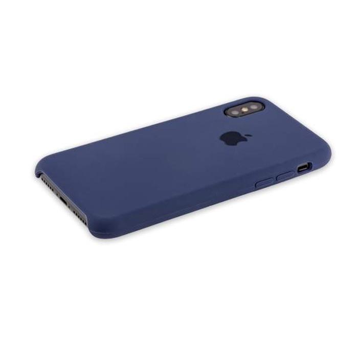 Чехол для сотового телефона Hoco Силиконовый чехол для iPhone X цвет синий, CT-2012 стоимость