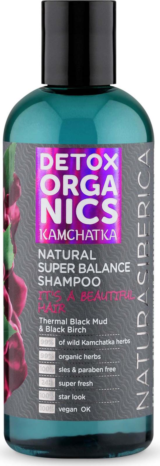 Шампунь для волос Natura Siberica Detox organics Kamchatka