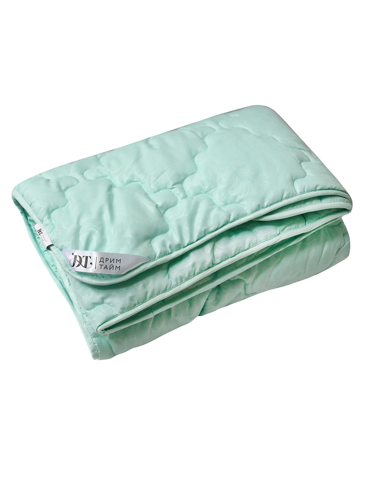 Одеяло Dream Time, ДТ-ОМЭ-20, светло-зеленый, 172 х 205 см одеяло relax wool всесезонное цвет светло бежевый 172 х 205 см