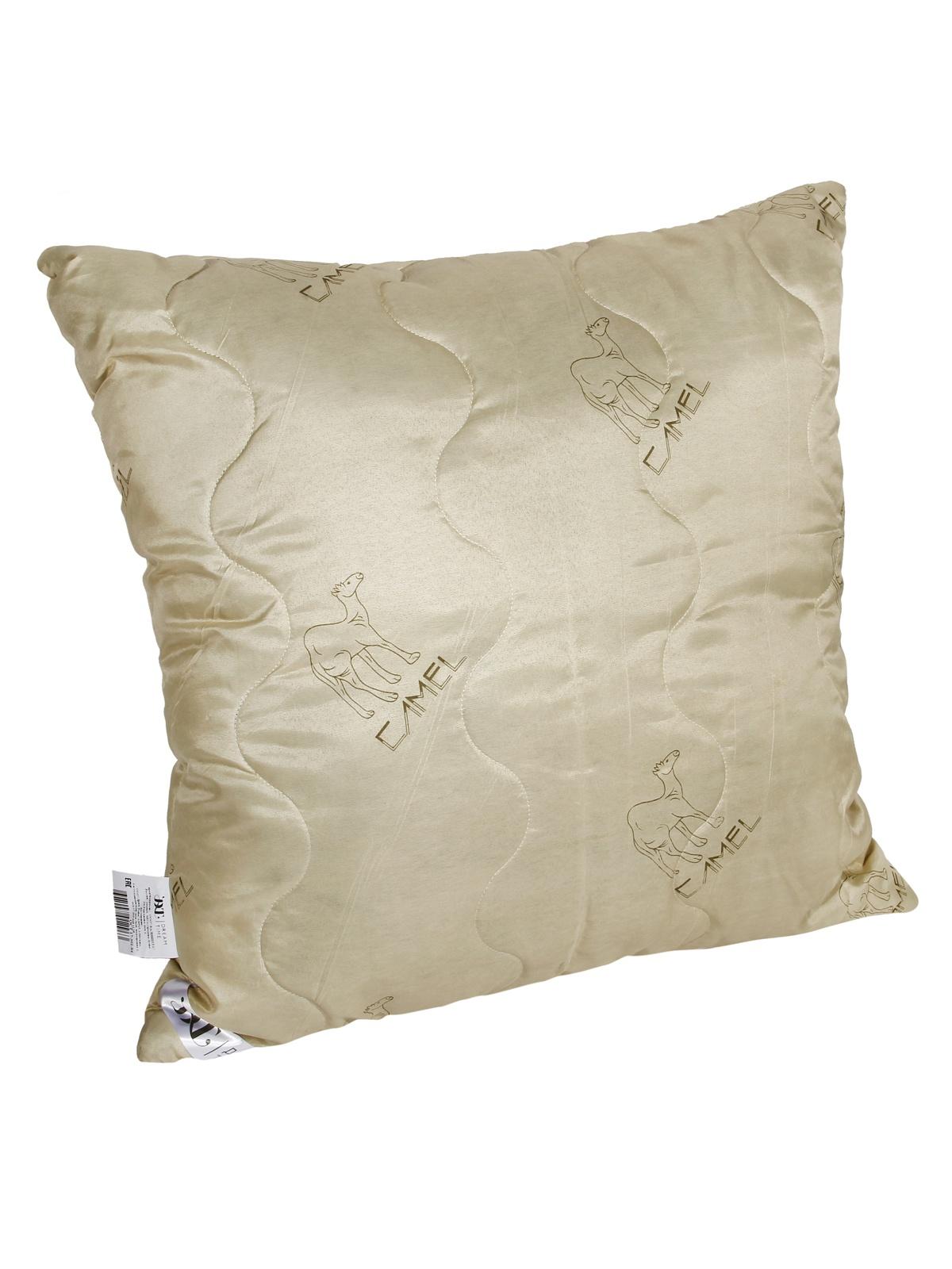 Подушка Dream Time, 471070-э, бежевый, 68 х 68 см подушка ecotex эдда наполнитель пух 68 х 68 см