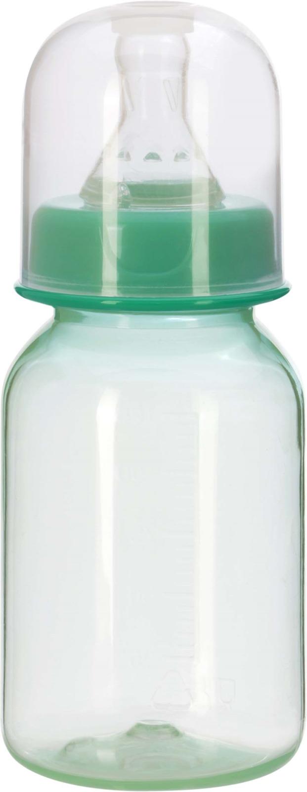 Бутылочка для кормления Курносики, с соской, 11129, 125 мл avent бутылочка для кормления 125 мл