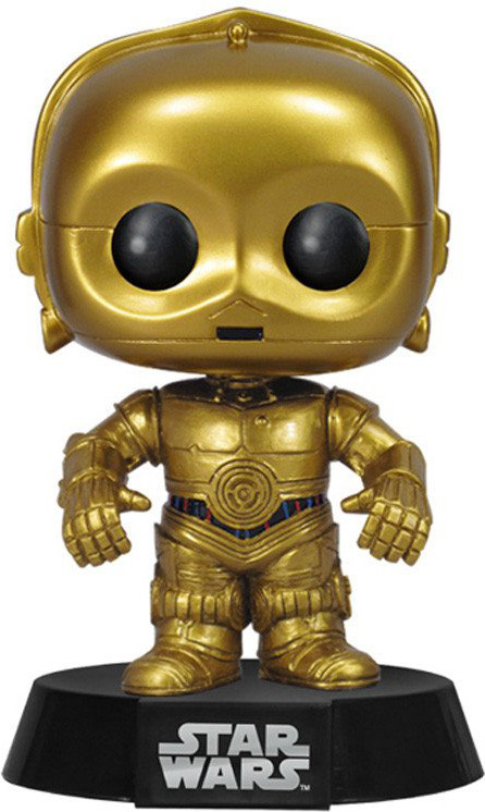 Фигурка Funko POP! Bobble: Star Wars: C-3PO 2387 funko pop bobble фигурка star wars e8 tlj poe dameron pop 6 14747