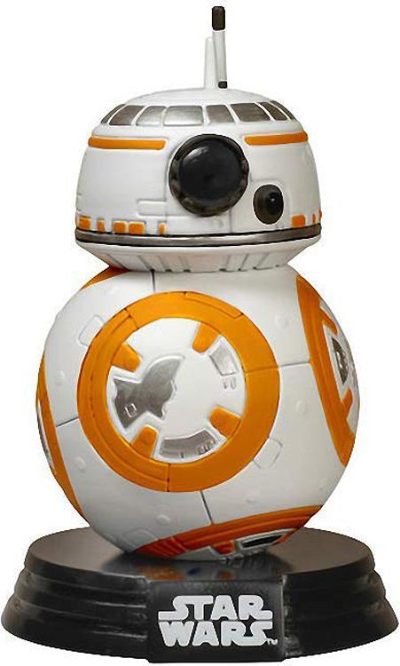 Фигурка Funko POP! Bobble: Star Wars: E7 TFA: BB-8 6218 стакан stor звёздные войны последние джедаи с соломинкой и крышкой 7930 серый 430 мл