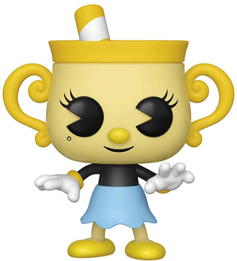 Фото - Фигурка Funko POP! Vinyl: Games: Cuphead: Ms. Chalice 34476 мягкая игрушка cuphead cuphead