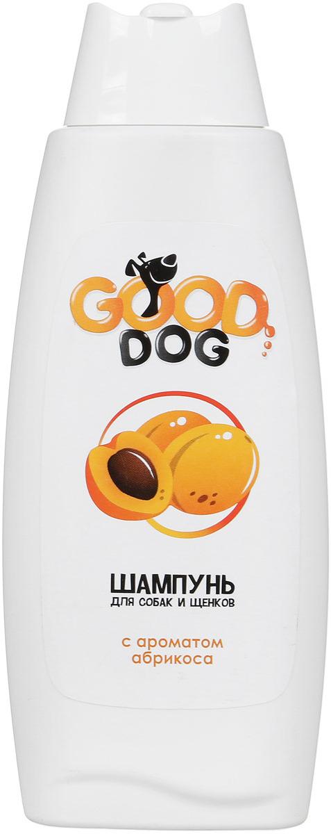 Шампунь для собак и щенков Good Dog, с ароматом абрикоса, 250 мл