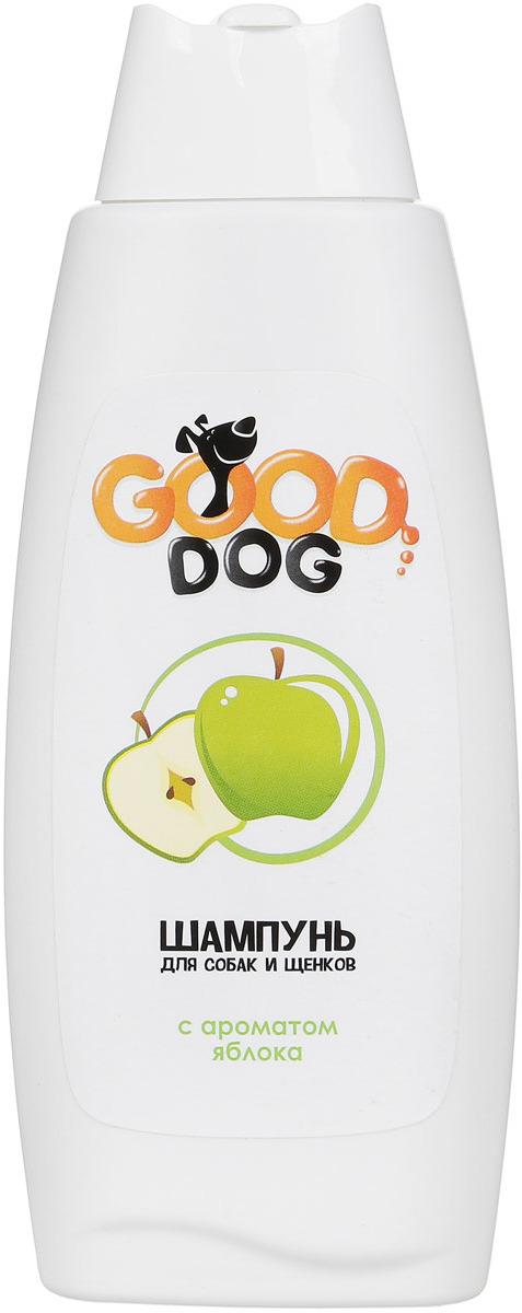 Шампунь для собак и щенков Good Dog, с ароматом яблока, 250 мл