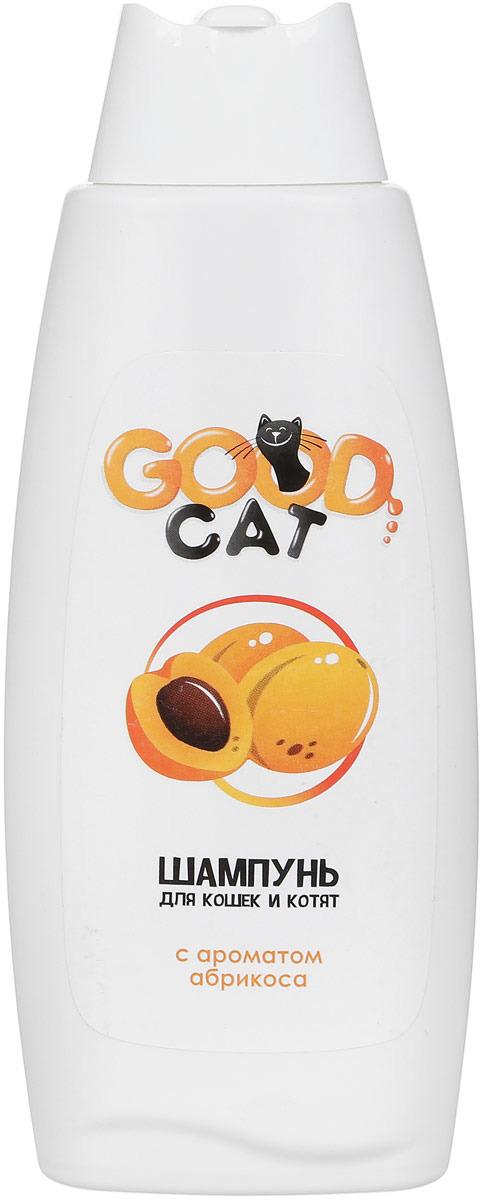 Шампунь для кошек и котят Good Сat, с ароматом абрикоса, 250 мл