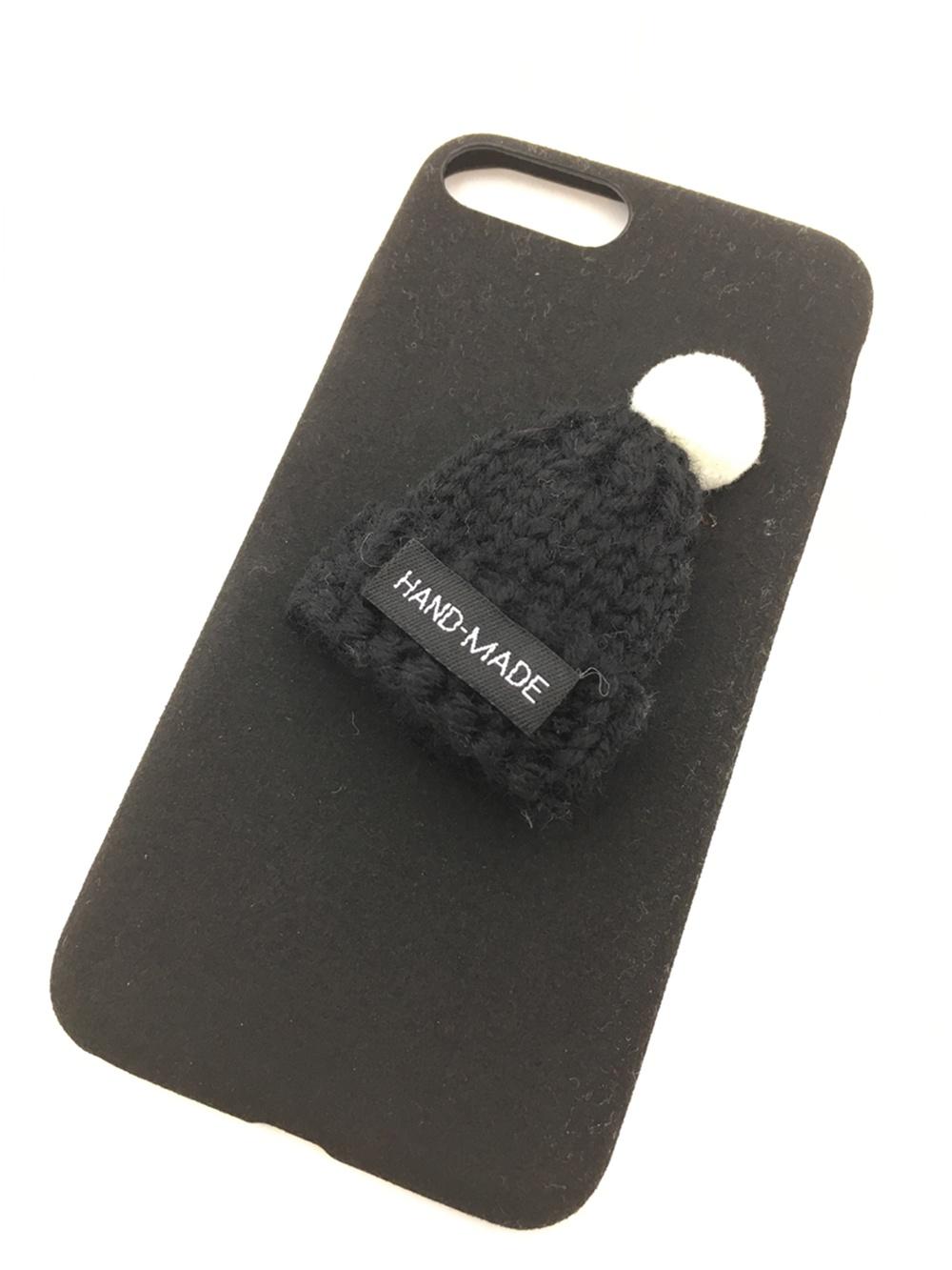 Чехол для сотового телефона Мобильная мода iPhone 7 Plus Накладка 3D с шапочкой, 7 002B, черный боди с шапочкой doomagic