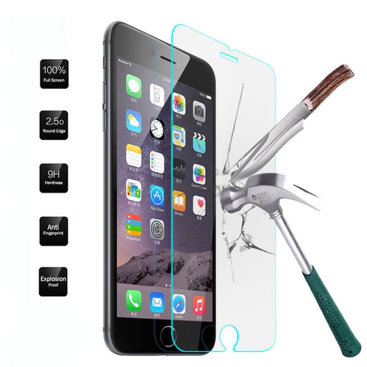 Защитное стекло для Iphone 7/8 черная