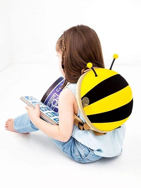 Рюкзак Supercute Supercute Ранец Детский рюкзак Пчёлка желтый, SF034Y, желтый рюкзачок для переноски детей brevi pod серый