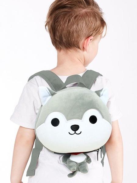"""Ранец SUPERCUTE """"Детский рюкзак Собачка"""" цвет: серый"""
