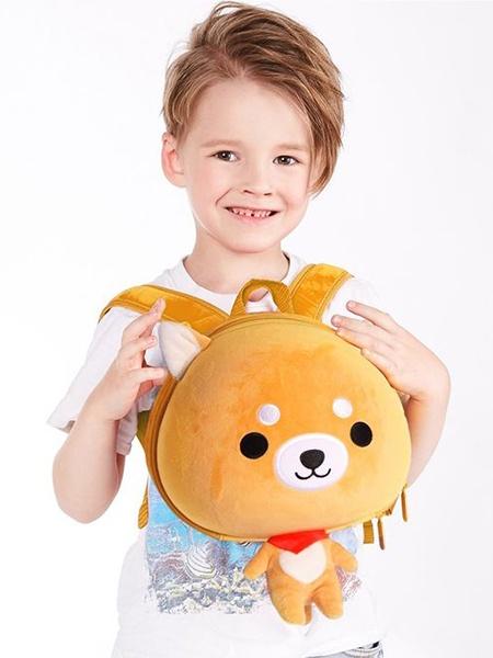 "Ранец SUPERCUTE ""Детский рюкзак Собачка"", цвет: желтый"