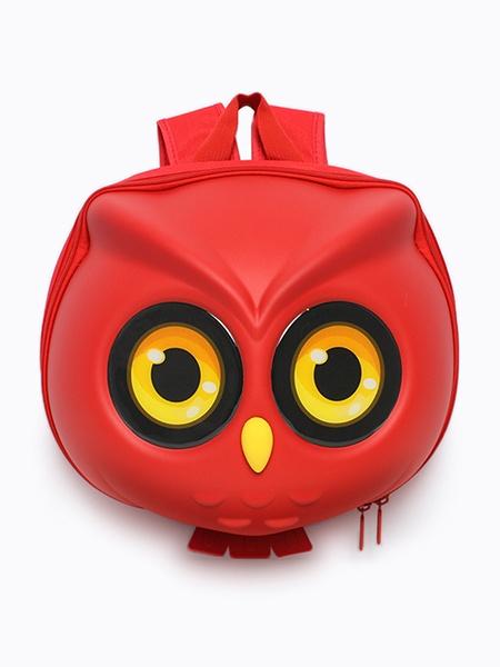 """Ранец SUPERCUTE """"Детский рюкзак Совёнок"""", цвет: красный"""