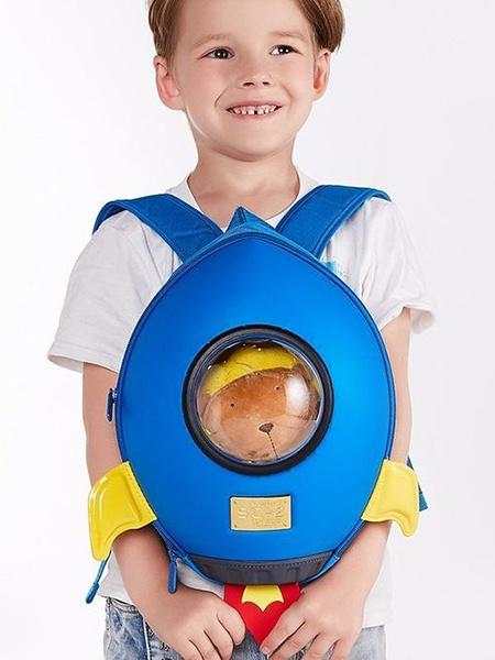 """Ранец SUPERCUTE """"Детский рюкзак Ракета"""", цвет: синий"""