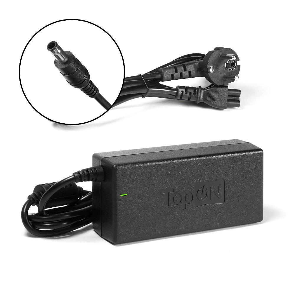 Зарядное устройство для ноутбука TopOn Samsung 19V, 3.16A (60W), штекер 5,5 на 3,0 мм. PN: AD-6019, SPA-830E, AD-6019R, TOP-SA01 зарядное устройство для ноутбука topon samsung 19v 3 16a 60w штекер 5 5 на 3 0 мм pn ad 6019 spa 830e ad 6019r top sa01