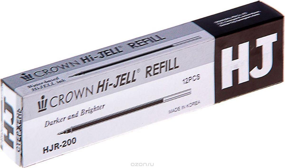 Crown Стержень для гелевой ручки цвет черный стержень для гелевой ручки g1 черный 0 5 мм bls g1 5 b