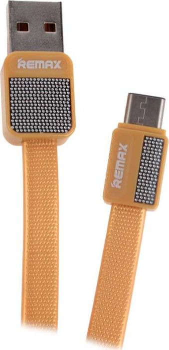 Кабель Remax Platinum USB - Type-C, 1 м, 23278, золотой