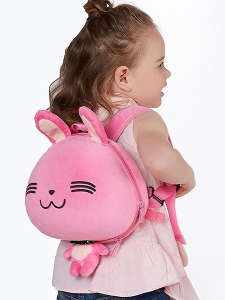 "Рюкзак Supercute Supercute Ранец ""Детский рюкзак Зайчик"" цвет розовый, SF036P, розовый"