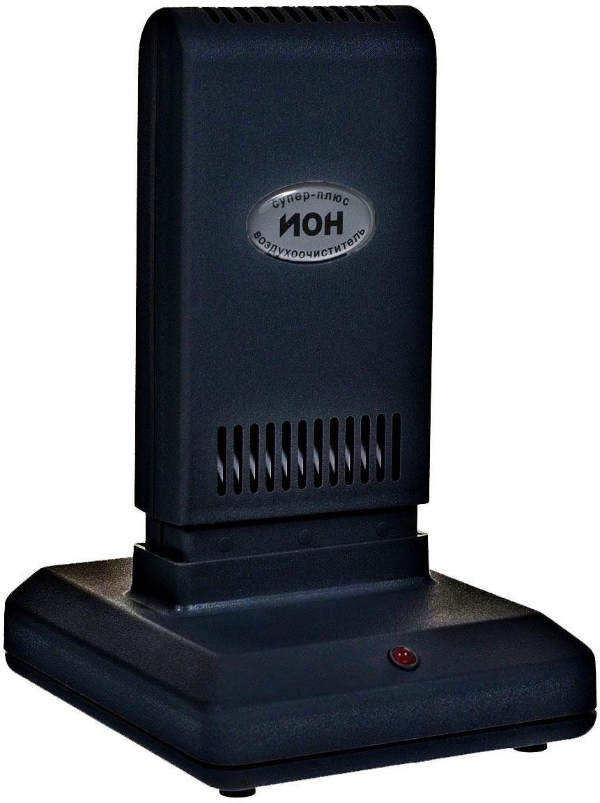 Очиститель-ионизатор воздуха Супер-Плюс Ион, черный очиститель воздуха тион clever