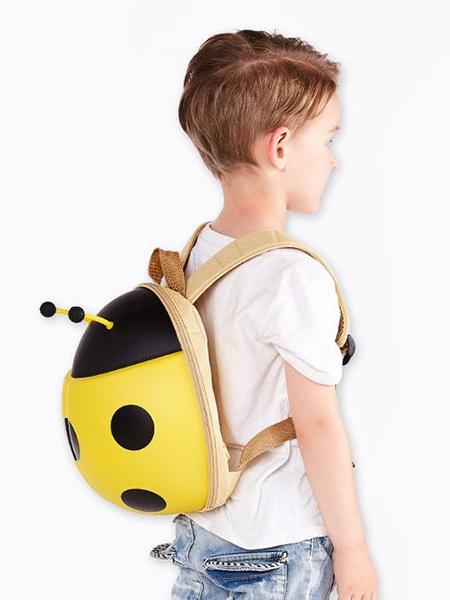 """Ранец SUPERCUTE """"Детский рюкзак Божья Коровка"""", цвет: желтый"""