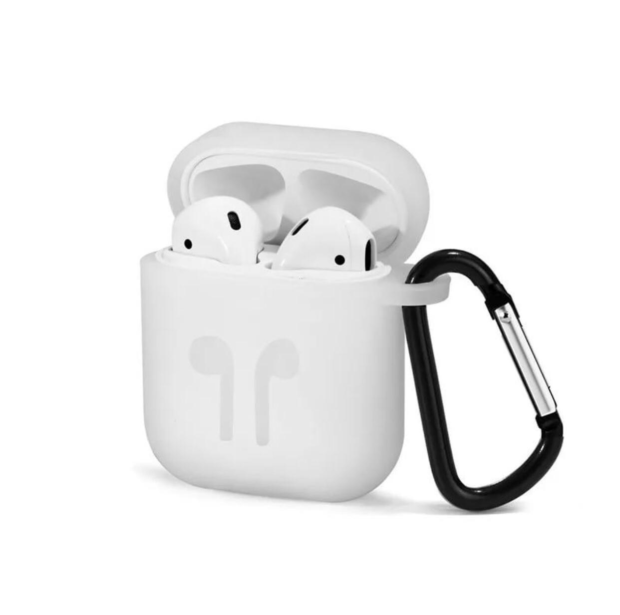 Чехол для наушников Markclub@Hoco Apple AirPods, белый