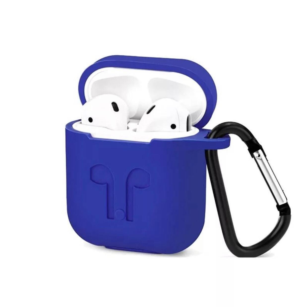 Чехол для наушников Markclub@Hoco Apple AirPods, синий