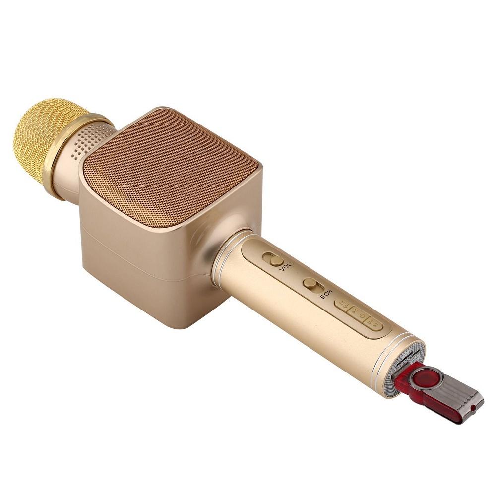 Микрофон Magic Karaoke YS-68 золотой