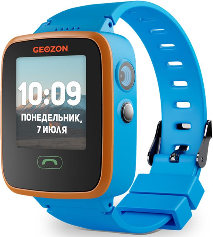 Умные часы детские Geozon Aqua, синий детские умные часы smart baby watch i8 тёмно синий