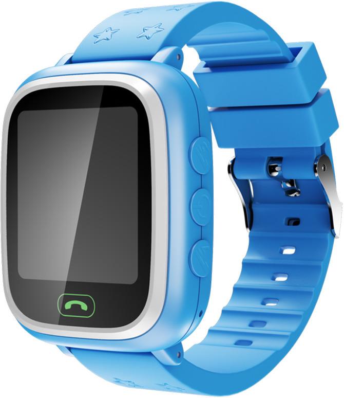 Умные часы детские Geozon Lite, синий детские умные часы smart baby watch i8 тёмно синий