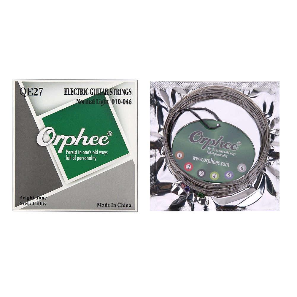 Струны для электрогитары Orphee QE-27, MF00718 j rameau orphee