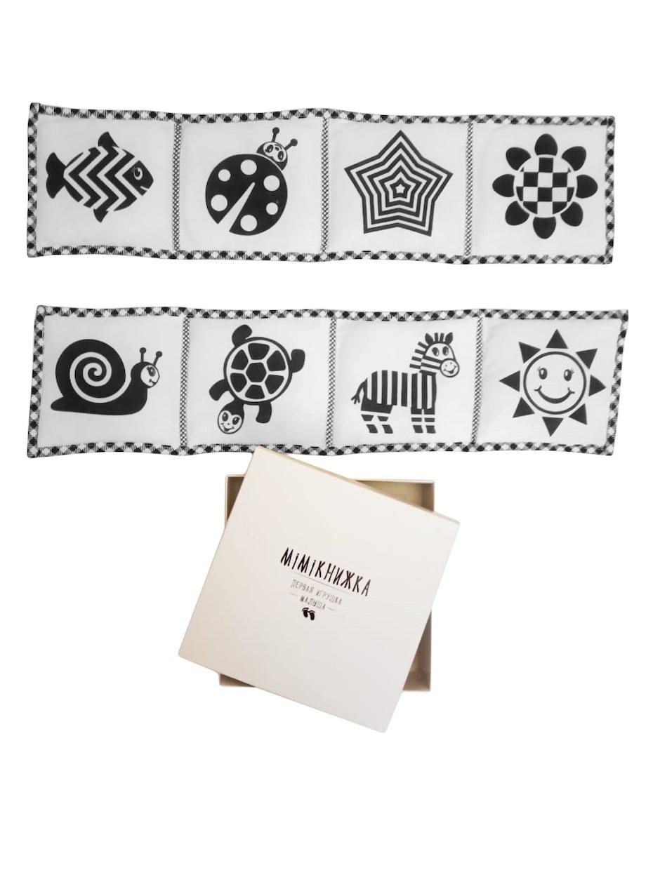 Развивающая книжка с черно-белыми картинками Mimiкнижка (Мимикнижка)