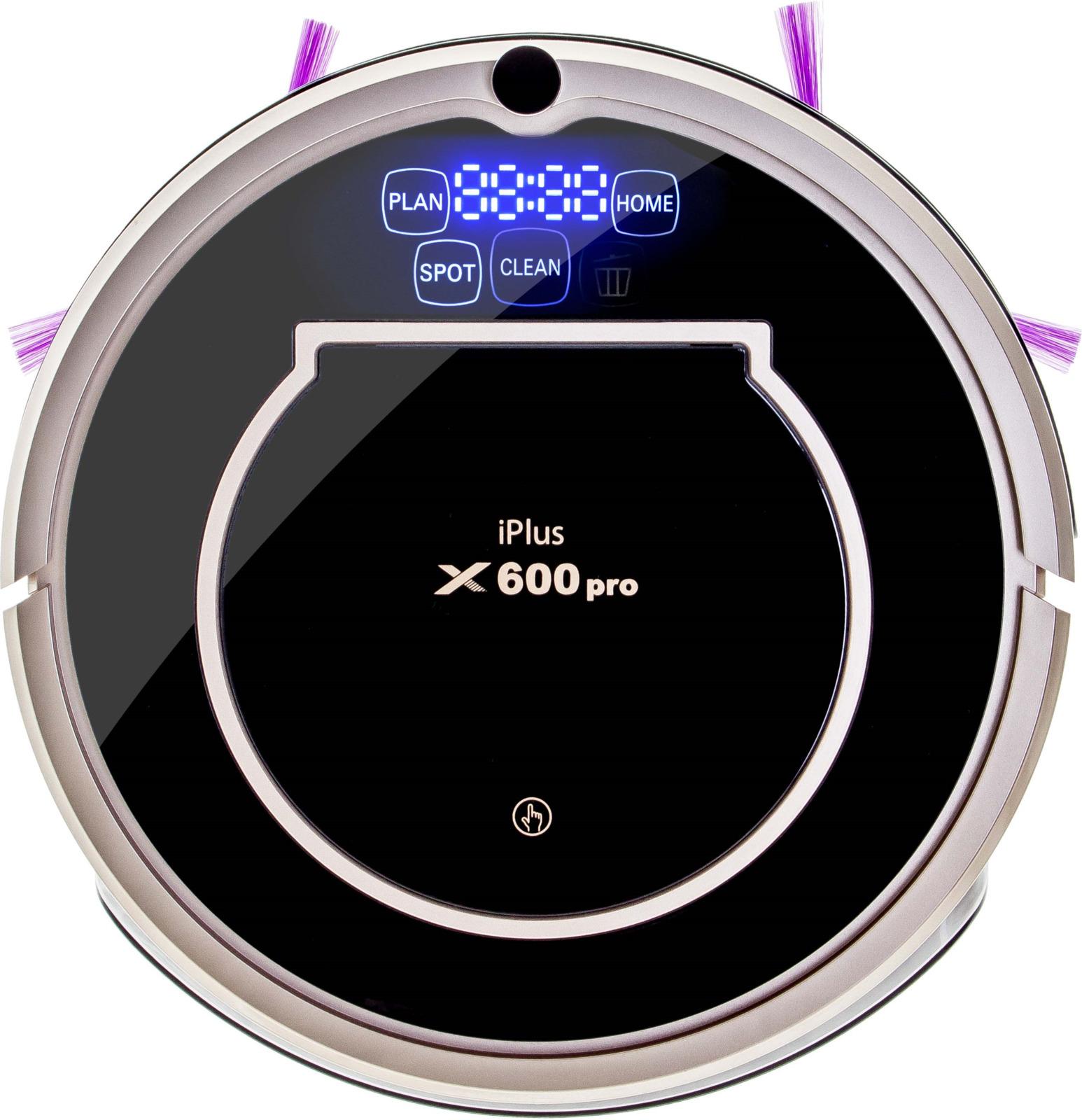 Робот-пылесос Iplus X600Pro, Black midea r1 l083b робот пылесос робот пылесос