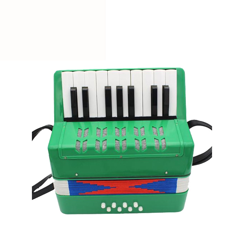Детский музыкальный инструмент Future Star FF-17K/GR аккордеон детский, зеленый детский пистолет revitalization star