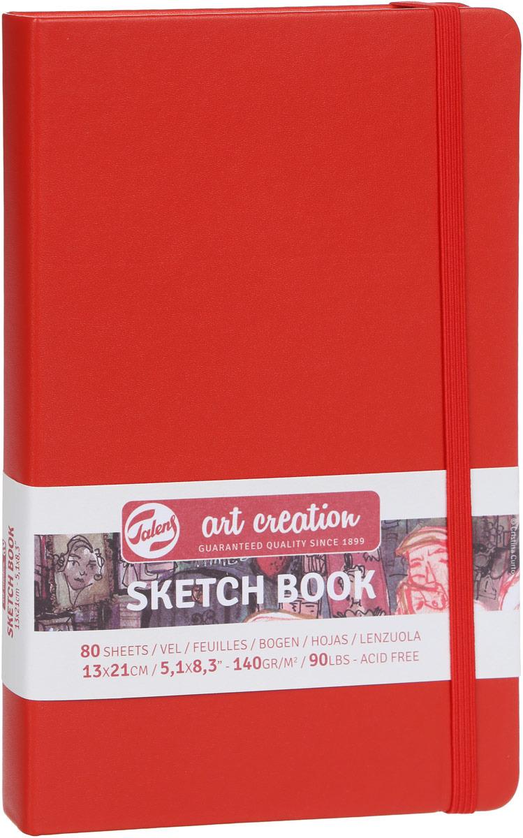 Royal Talens Блокнот для зарисовок Art Creation цвет красный 80 листов 9314202M цены онлайн