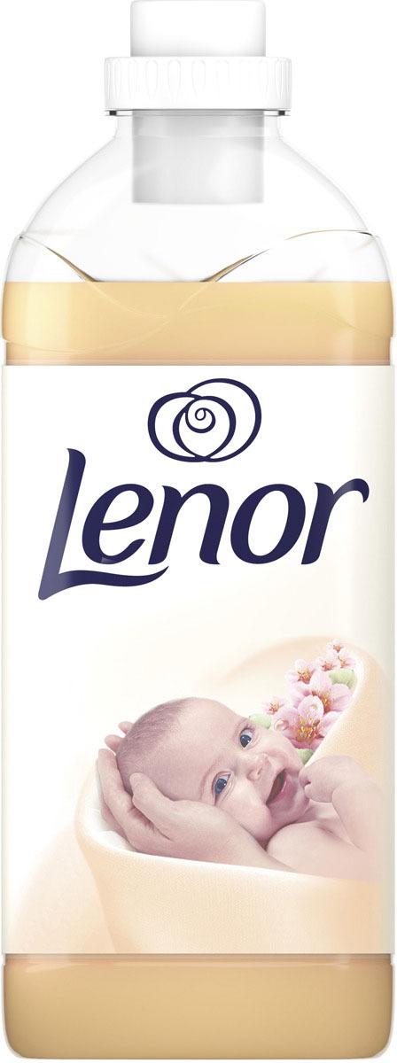 Кондиционер для белья Lenor Миндальное Масло, 2л кондиционер для белья lenor аметист и цветочный букет 1 8 л