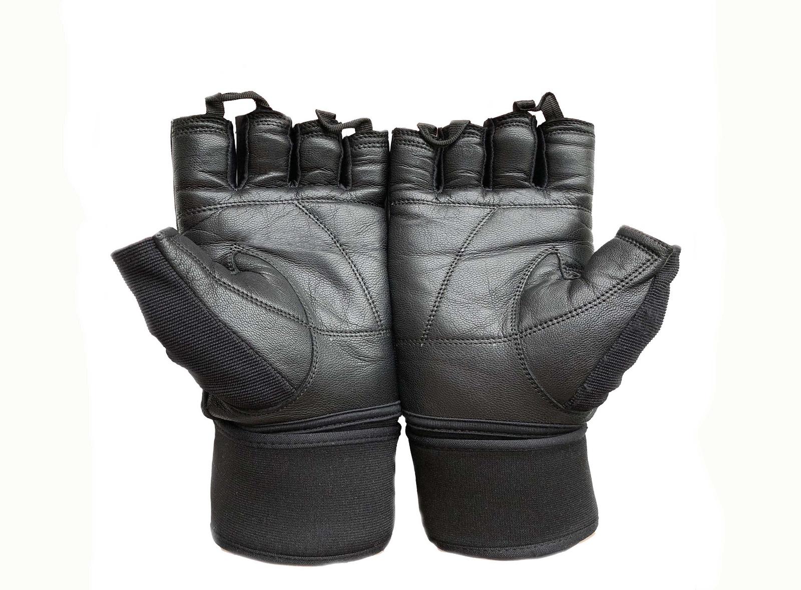 Перчатки для фитнеса OneRun цвет черный, размер L