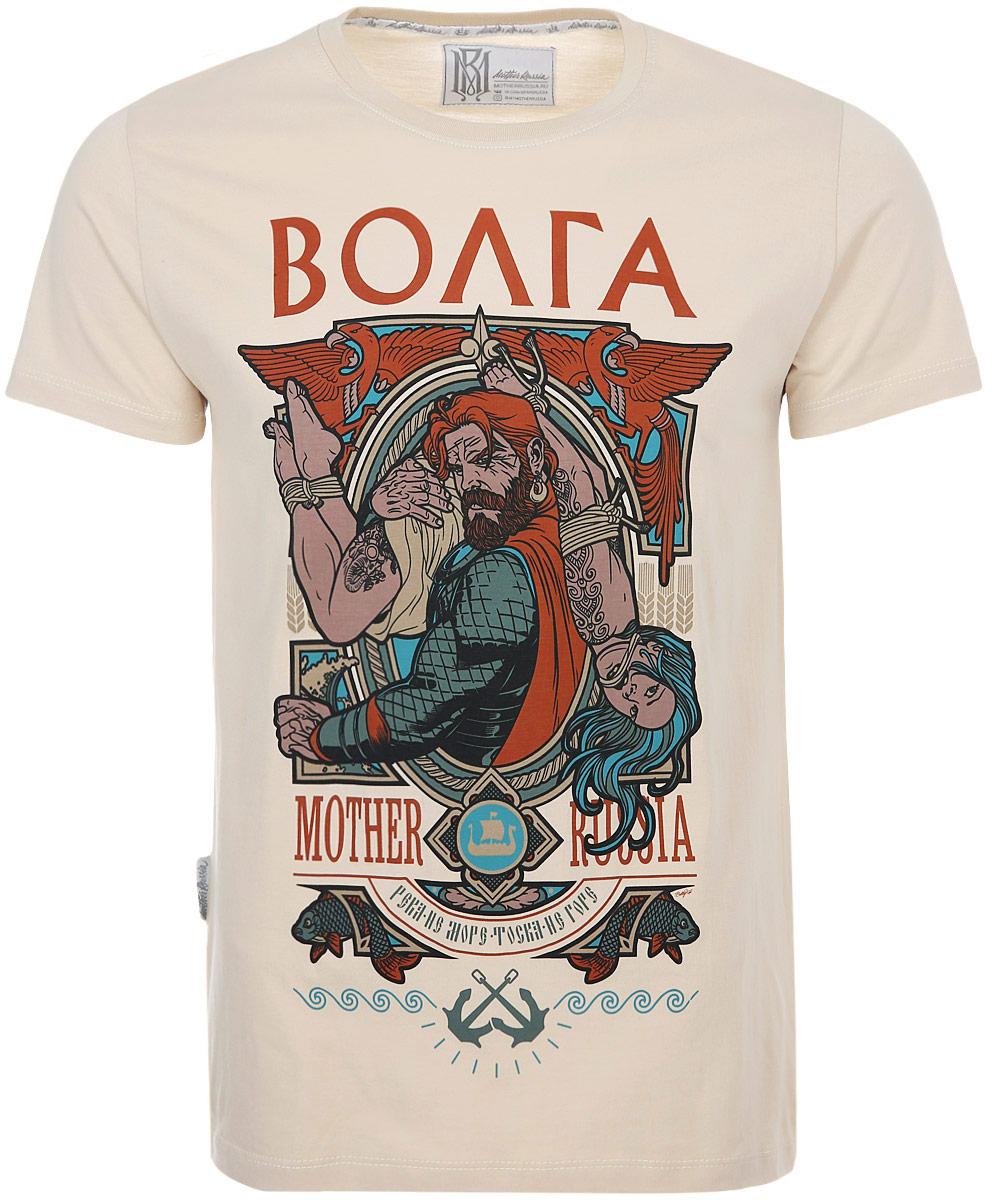 Футболка Mother Russia футболка мужская mother russia тройка цвет бежевый футбол0003 размер xl 52