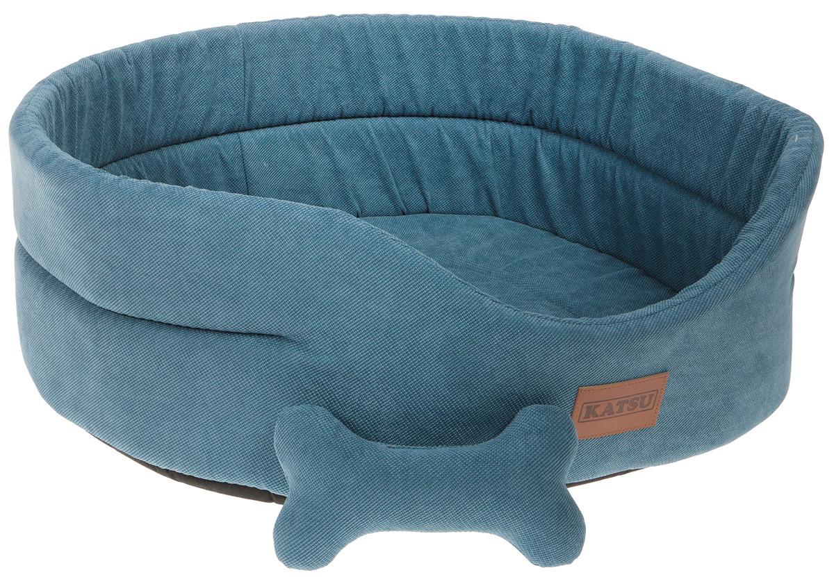 Лежак для животных Katsu Yohanka Sun, 70388, лазурный, 64 х 56 х 23 см