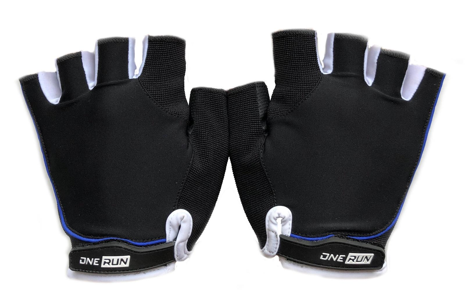 цена на Перчатки для фитнеса OneRun женские, AI-05-783-XS, белый, черный, размер XS