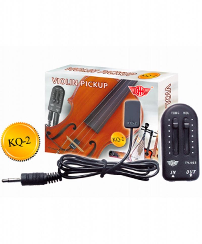 GH KQ-2 Звукосниматель (пьезодатчик) для скрипки, гитары или укулеле цены