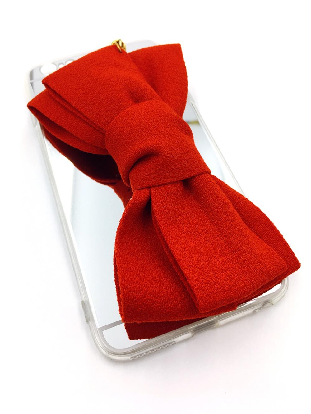 iPhone 6/6S Plus Накладка пластиковая с красным бантом