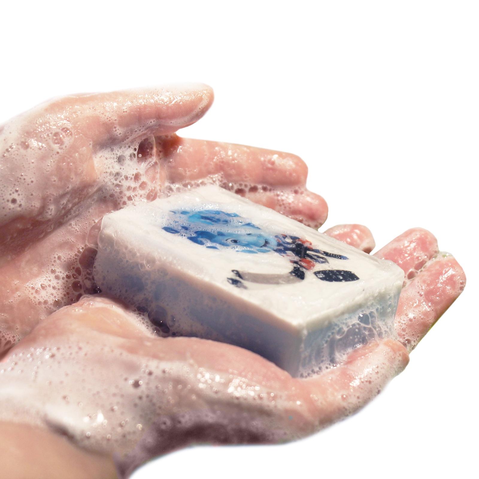 Картинка детская мыло