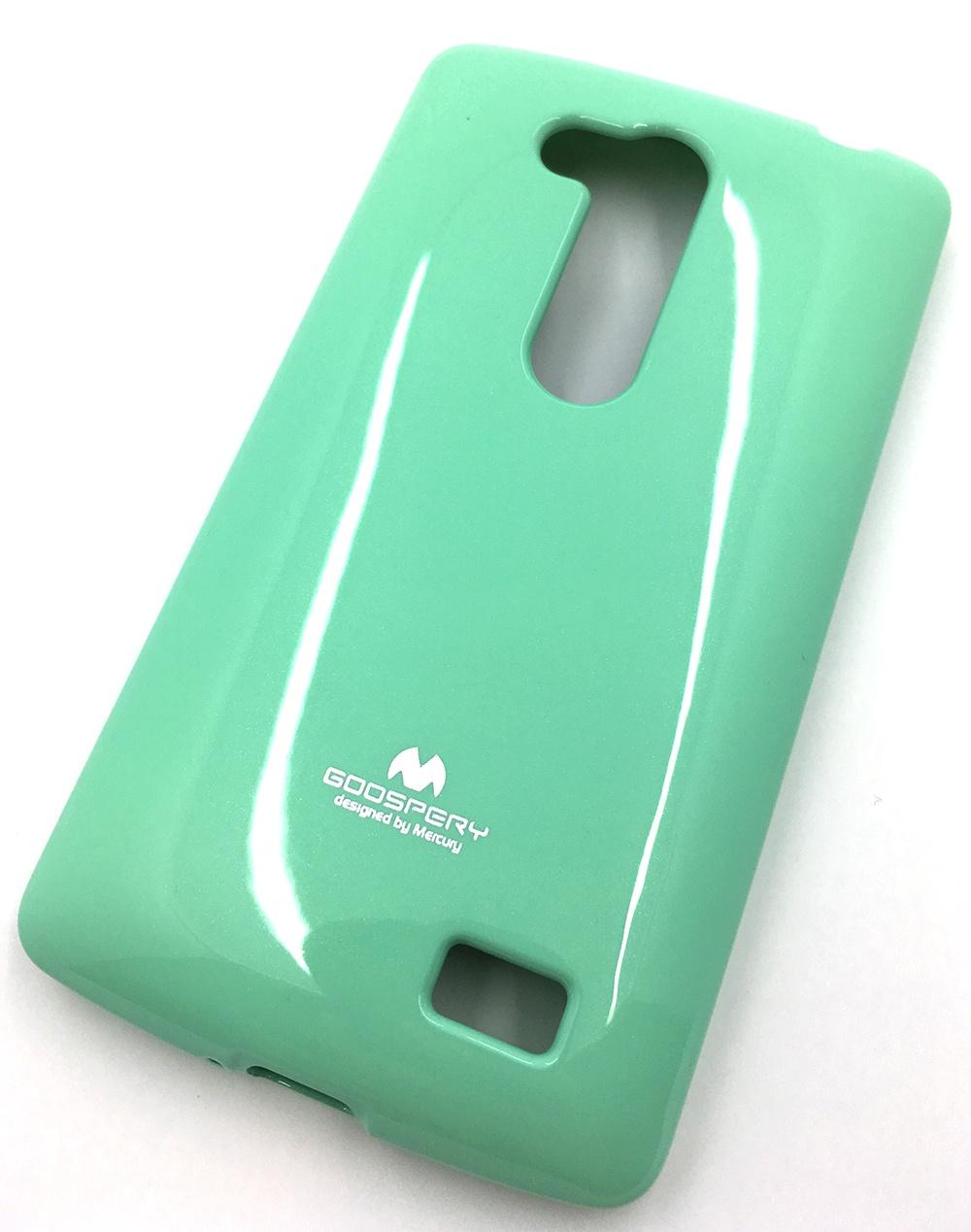 Чехол для сотового телефона Mercury Goospery LG L Fino-D295 Накладка Mercury Jelly Case ламинированный силикон, 18750, светло-зеленый цена