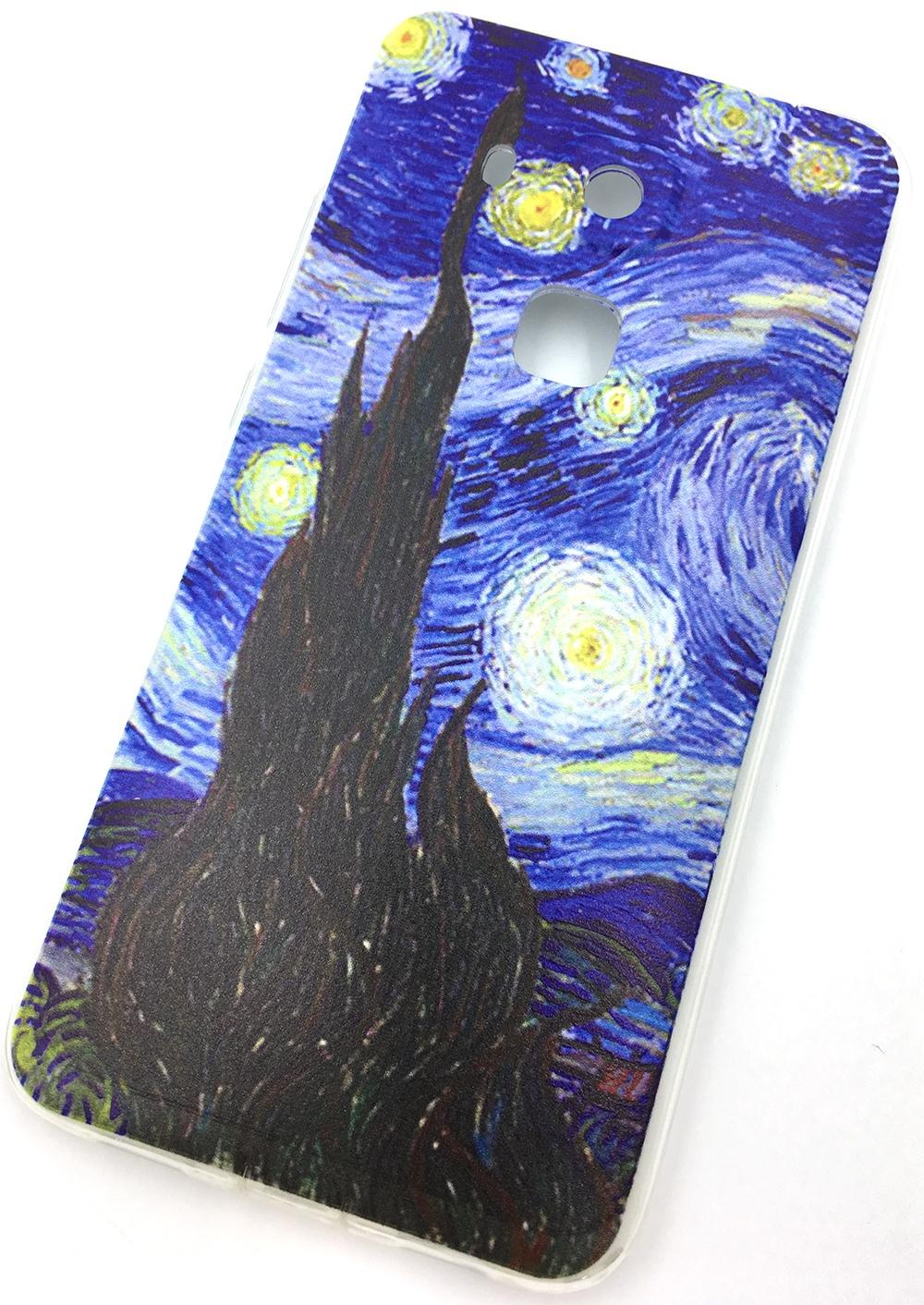 Чехол для сотового телефона Мобильная мода Huawei Nova Plus (Huawei G9 Plus) Накладка силиконовая с рисунком, 7135 цена и фото