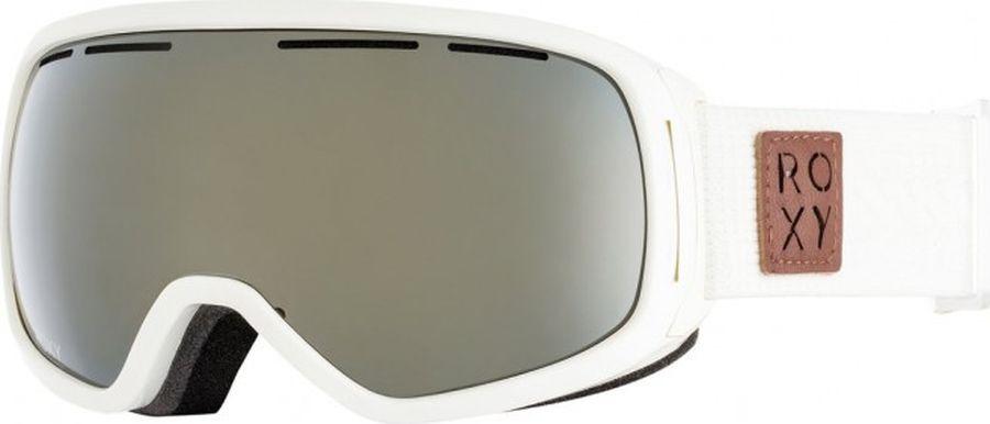 Маска для защиты глаз Roxy ROCKFERRY J SNGG WBS0, цвет: белый, черный. Размер универсальный цены онлайн