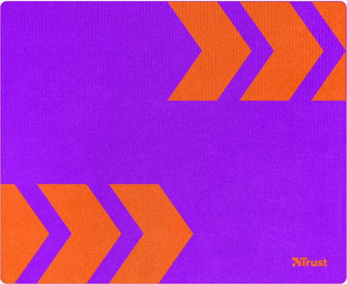 Коврик для мыши Trust Primo, цвет: пурпурный коврик для мыши trust primo цвет пурпурный